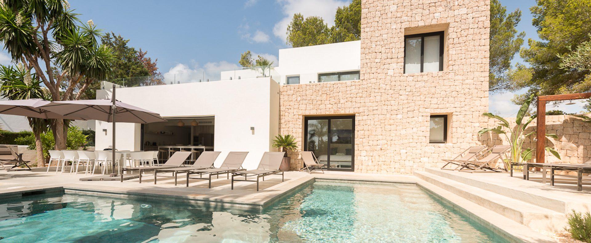 Can Blau, Ibiza, Rental, Nikki Beach
